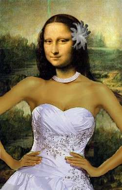 Mona lisa just married