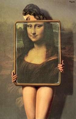 Mona Lisa Magritte 1