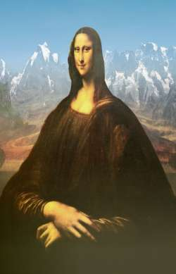 Mona Lisa mountain