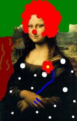 Mona Lisa mustnd smile-shes the gag^^