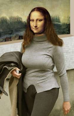 Mona Lisa New Fashion