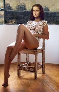 Mona Lisa on the Chair