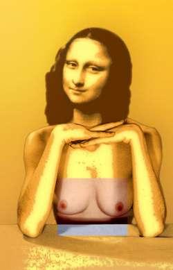 Mona Lisa orange