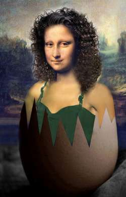 Mona Lisa piece of art I