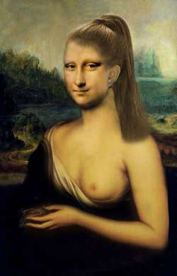 Mona Lisa piece of art II