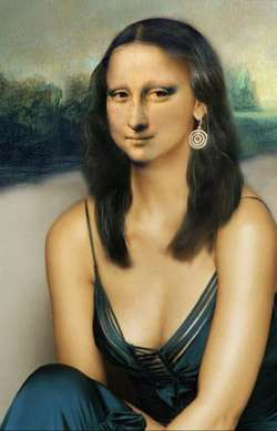 Mona Lisa piece of art III