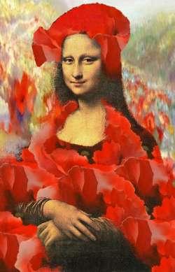 Mona Lisa poppys