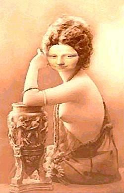 Mona Lisa  poterie