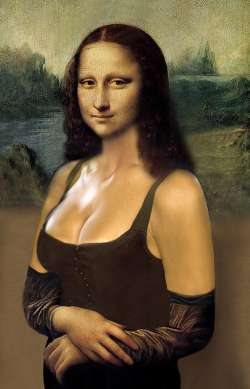 Mona Lisa Provocative