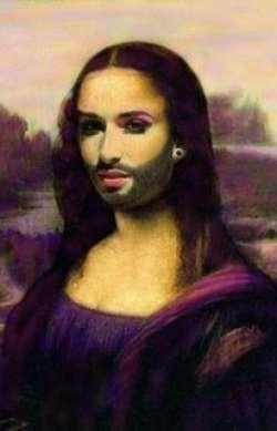 Mona Lisa Purple Pride