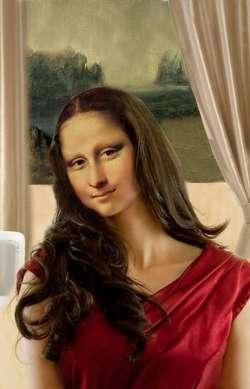 Mona Lisa Rear Window