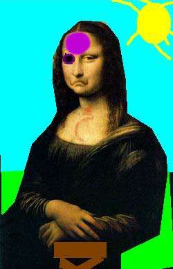 Mona Lisa 's Bad Day
