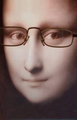 Mona Lisa - shortsighted