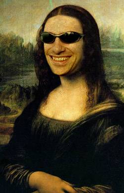 mona lisa smiling