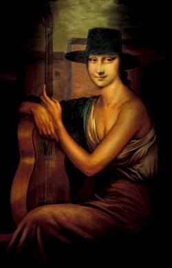 Mona Lisa Spanish Style