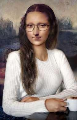 Mona Lisa Student Portrait