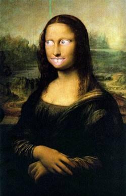 Mona Lisa ,têtes à claques