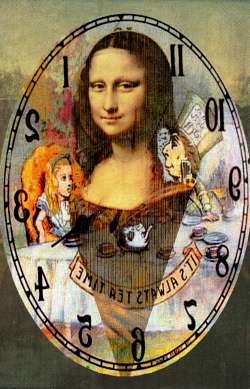 Mona Lisa tea time