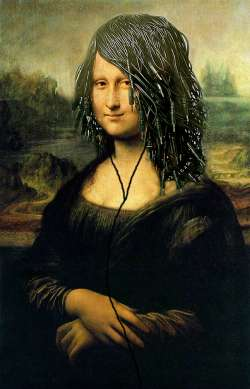 Mona Lisa Wired Up