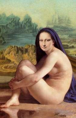Mona Lisa with Headscarf