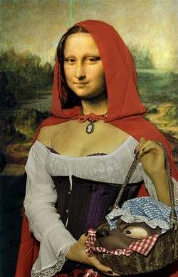Mona little red riding hood