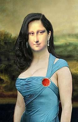 Mona Liza modernized
