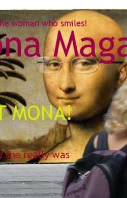 Mona Magazine in the street