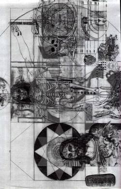 MONA = MARIA + Vitruvian man 2