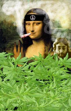 Mona meets John, marihuana session