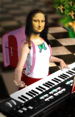 mona plays in c minor