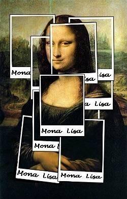 Mona Polaroid