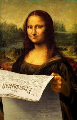 Mona reading