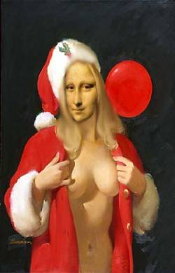 Mona ready for christmas