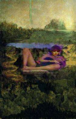 Mona Relaxes