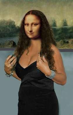 Mona's New Hairstyle