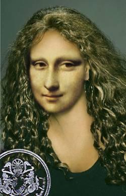 Mona's Passport Photo