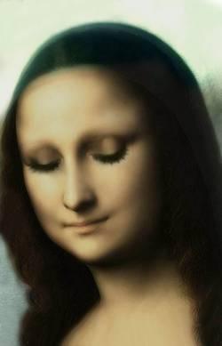 Mona Sleeping