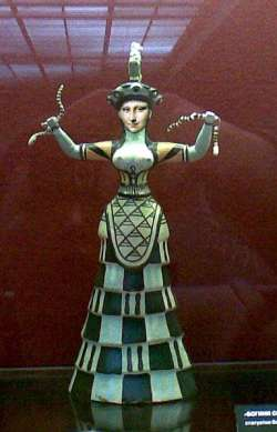 Mona Snake Goddess