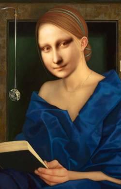 Mona Studying