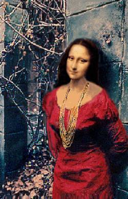 mona taking the breeeeeze...