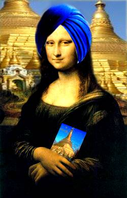 mona travels east