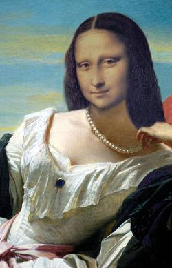 Mona under the blue Sky