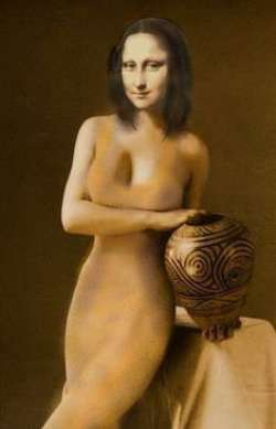 Mona with bowl