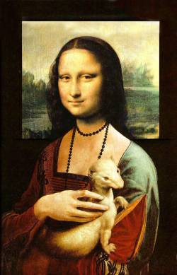 Mona with Ermine