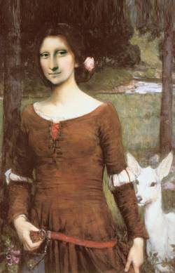 Mona With Goat