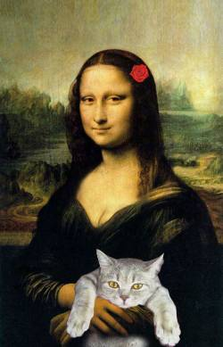 Mona with her Pet