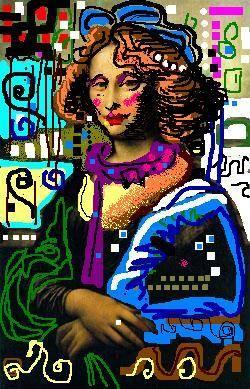 Monalisa Gustav Klimt