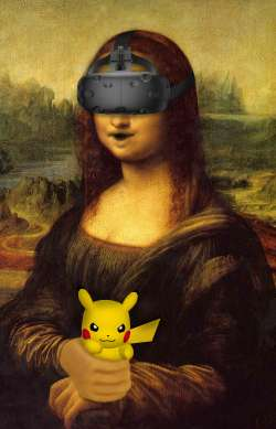 Monalisa plays Pokemon