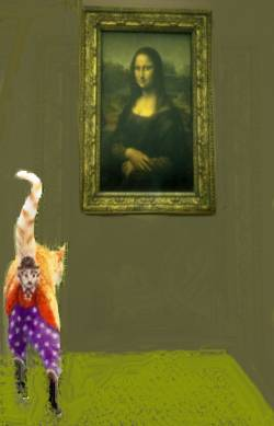 more mona lisa´s fans!