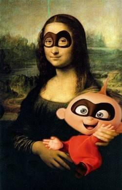 Mrs Incredible Mona